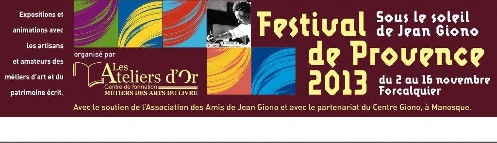 Le Premier Festival de Provence : Sous le Soleil de Giono dans Les animations bandeau-festival-55x190-1024x296